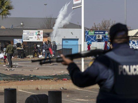 Названа причина кровавых беспорядков и мародерства в ЮАР