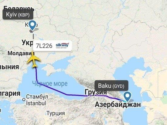 Необычные рейсы грузовых азербайджанских Boeing 747 продолжились в Кабул