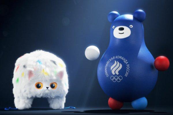 Олимпийский комитет России показал талисманы сборной