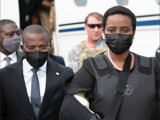 Вдова погибшего президента Гаити вернулась на родину