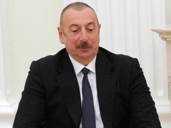 Алиев объявил о завершении конфликта в Карабахе