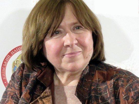 Арестован счет белорусского ПЕН-центра Светланы Алексиевич