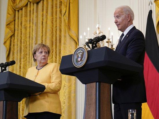 Меркель и Байден окончательно согласовали работу «Северного потока - 2»