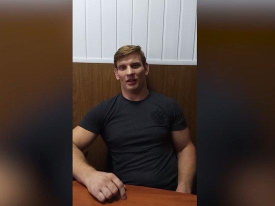 Белорусское ТВ показало выданного РФ спортсмена Кудина критикующим оппозицию