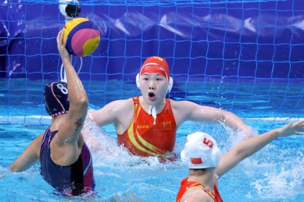 Российские ватерполистки обыграли Китай в группе на Олимпиаде
