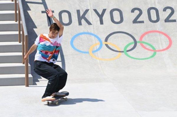 Японец Хоригомэ стал первым в истории скейбординга олимпийским чемпионом