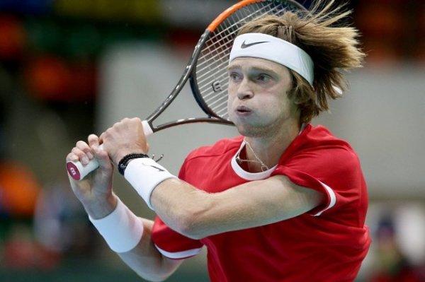 Рублев не смог выйти во второй круг теннисного турнира Олимпиады