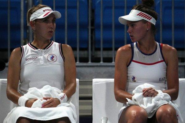 Кудерметова и Веснина вышли в четвертьфинал парного олимпийского турнира