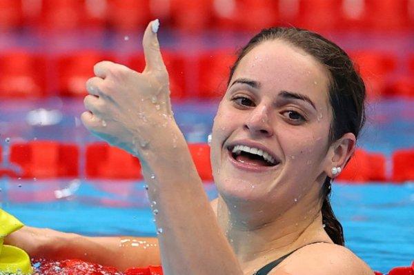 Австралийка Маккиоун стала чемпионкой ОИ-2020 в плавании на спине