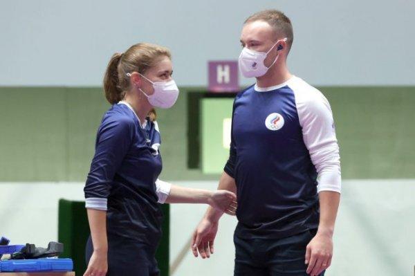 Стрелки Бацарашкина и Черноусов вышли в финал Олимпиады