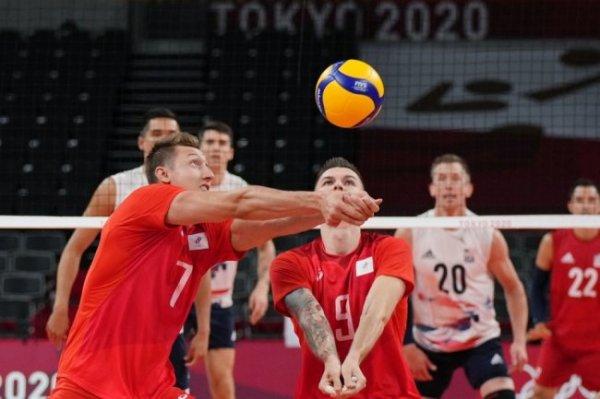 Российские волейболисты одержали вторую победу на Играх в Токио