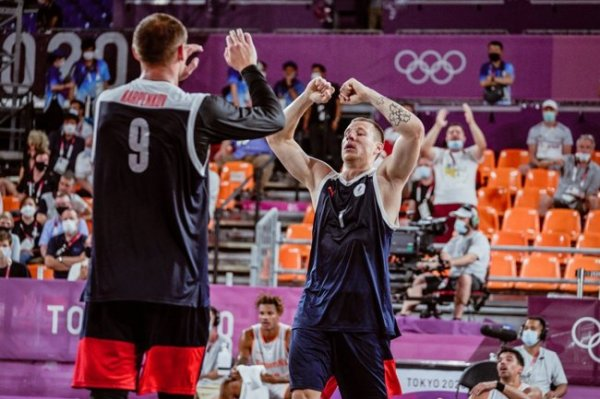 Мужская сборная России по баскетболу 3х3 вышла в финал на Олимпиаде