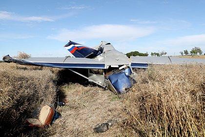 Частный самолет потерпел крушение в Подмосковье