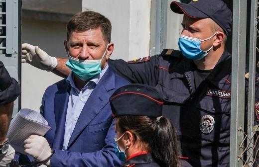 СК попросил продлить арест экс-губернатору Фургалу до 7 октября