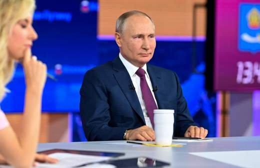Песков рассказал о вопросах Путину во время прямой линии