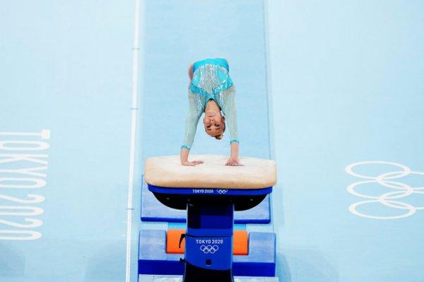 Россиянки не попали в число призеров в опорном прыжке на Олимпиаде