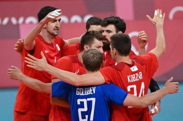 Волейболисты сборной России вышли в полуфинал Олимпиады