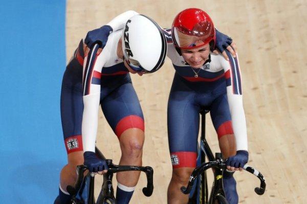 Велогонщицы Хатунцева и Новолодская завоевали бронзовые медали Игр-2020