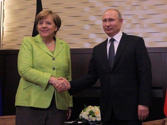 Кремль подтвердил переговоры Путина и Меркель в Москве