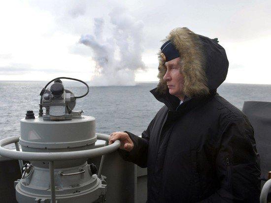 Путин рассказал о новых кораблях для ВМФ