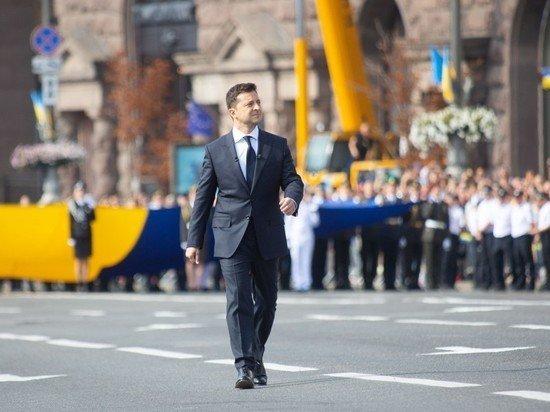На украинском параде независимости показали советскую технику