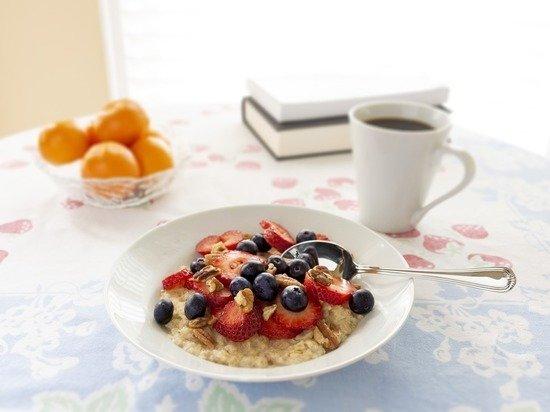 Названы шесть продуктов на завтрак, продлевающих жизнь