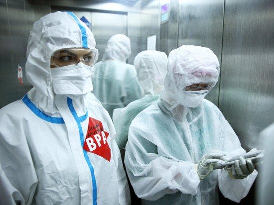 В России выявили 19 492 новых случая коронавируса