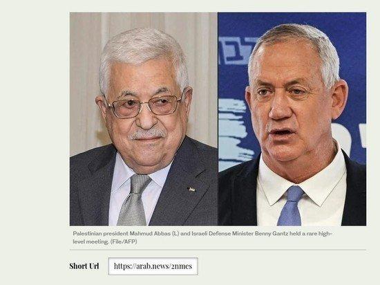 Израильский министр встретиться для переговоров с палестинским лидером
