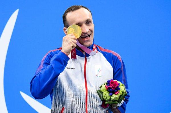 Пловец Калина завоевал второе золото Паралимпийских игр