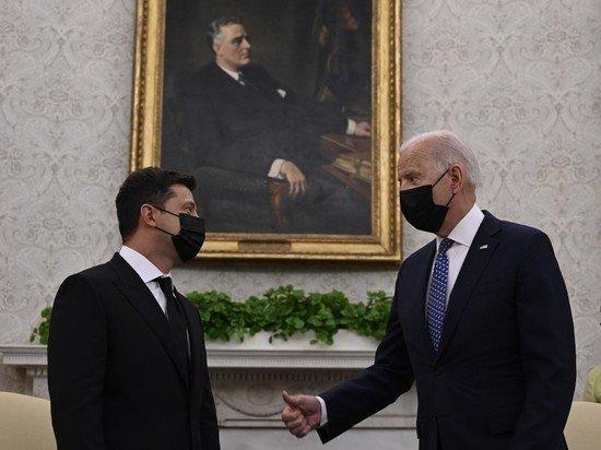 Президент по кличке Моника: визит Зеленского к Байдену закончился ничем