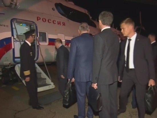 Россиянам показали вертолет Путина изнутри: