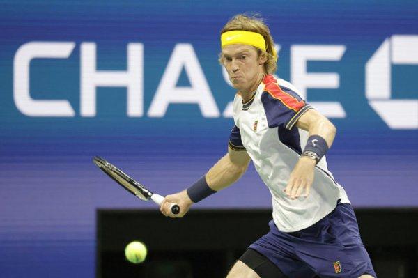Рублев проиграл в третьем круге Открытого чемпионата США по теннису