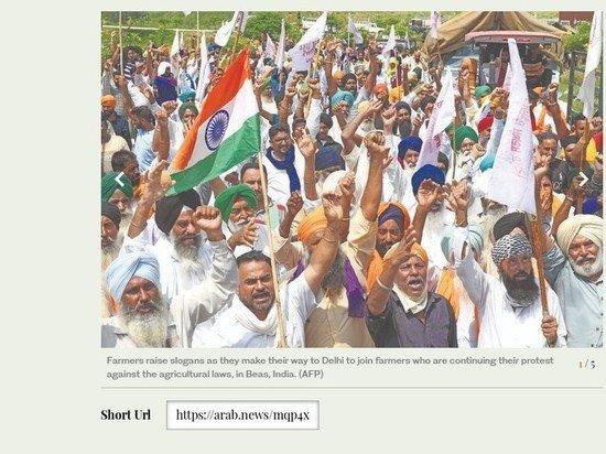 Индийские фермеры взбунтовались против сельскохозяйственных реформ и правящей партии