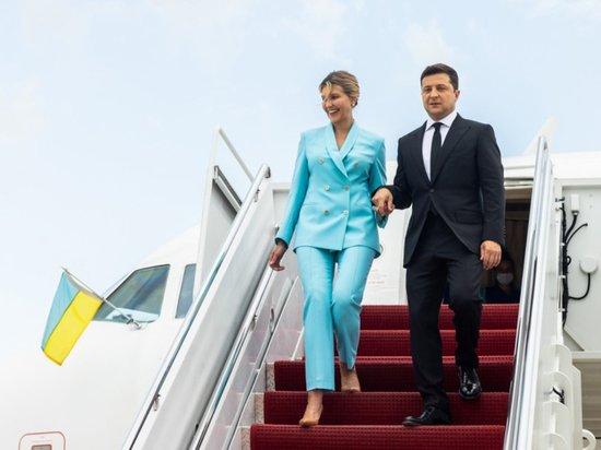 Названы траты бюджета Украины на полет Зеленского в США