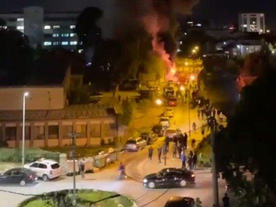10 человек погибли при пожаре в ковид-больнице в Северной Македонии