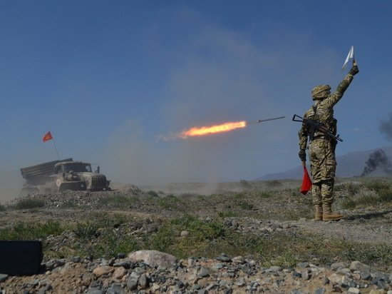 Войска ОДКБ отрепетировали уничтожение талибов
