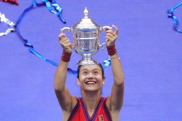 Эмма Радукану победила на Открытом чемпионате США по теннису