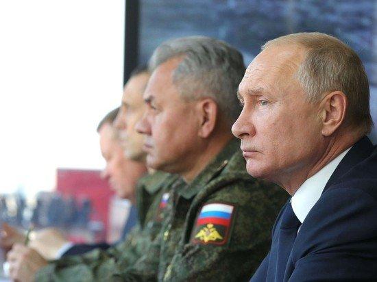 Путин запланировал поездку на военные учения России и Белоруссии