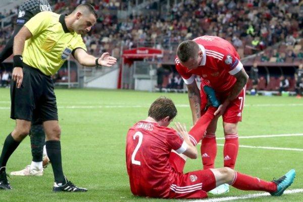 Марио Фернандес назвал травмы причиной завершения карьеры в сборной России