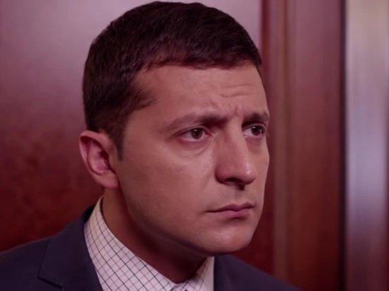 Зеленский запутался в языках во время интервью CNN