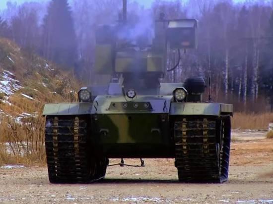 Болгары поиздевались над российским боевым роботом: