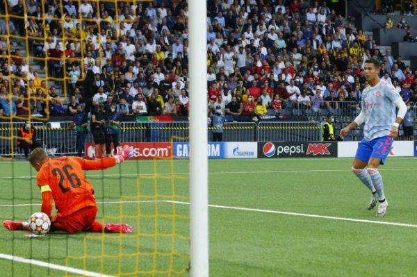 Роналду отличился в матче против