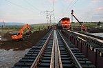 В Костромской области впервые применили ускоренную технологию ремонта пути