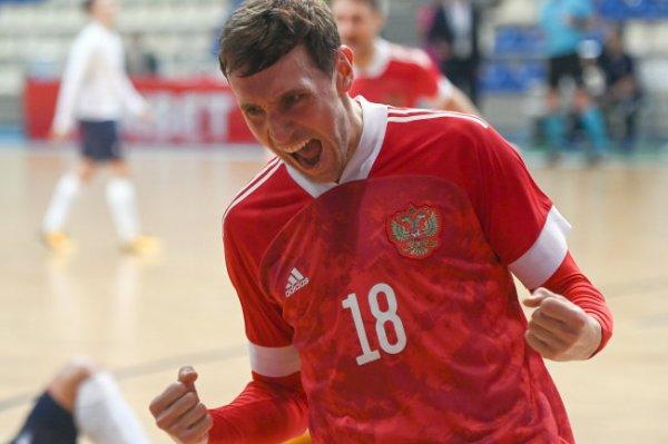Сборная по футзалу выиграла второй матч на ЧМ в Литве