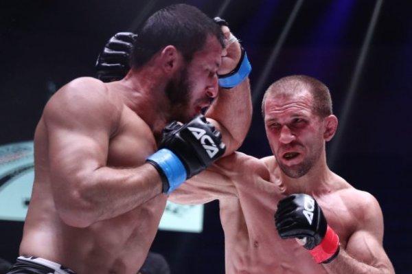 Сарнавский победил Магомедова в главном поединке турнира АСА 129