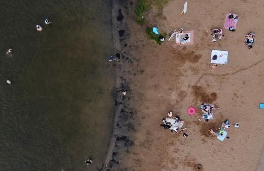 Спасатели обнаружили тело утонувшего в Гагре туриста из России