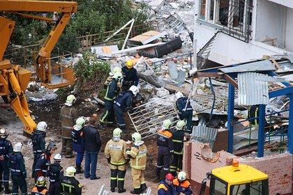 Власти назвали основную версию взрыва в жилом доме в Подмосковье