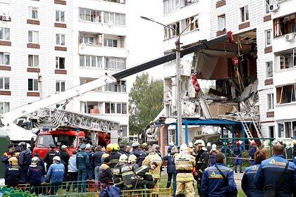 Тело второго погибшего извлекли из-под завалов после взрыва в доме в Подмосковье