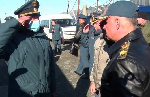 Aurus Lafet задействовали в церемонии прощания с главой МЧС Зиничевым