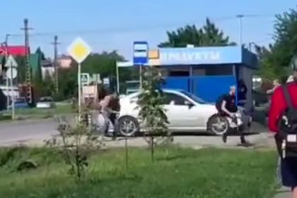 Вооруженный тесаком россиянин напал на детей возле школы